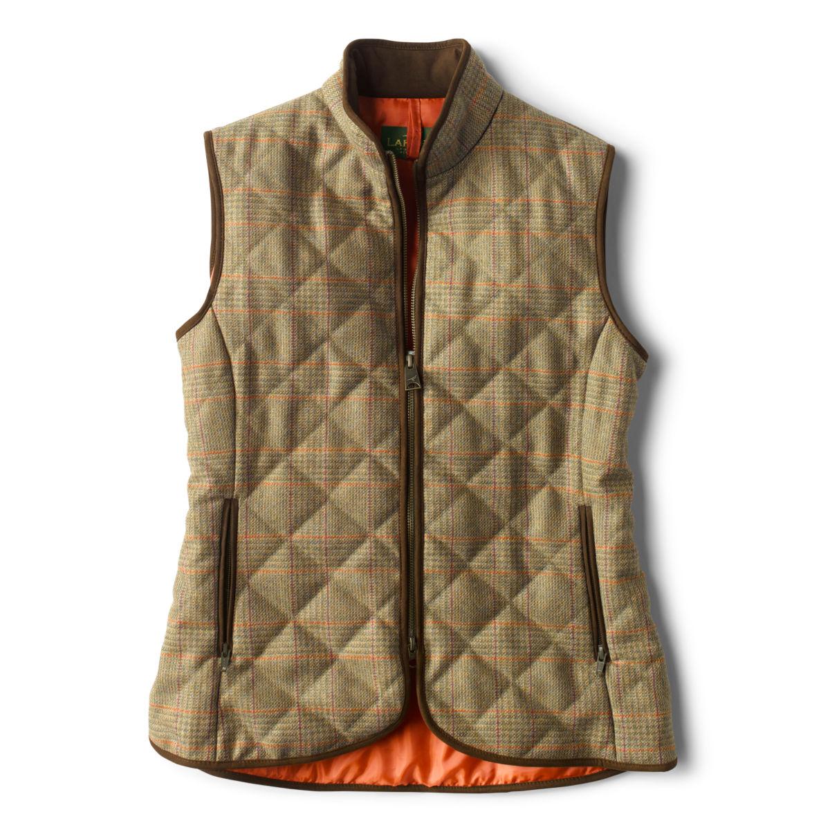 Laksen Ladies' Tweed Quilted Vest - image number 0