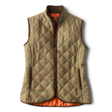 Laksen Ladies' Tweed Quilted Vest -