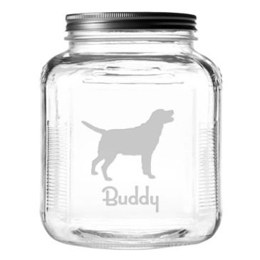 Personalized Dog Breed Treat Jar -