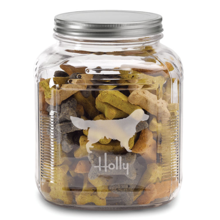Personalized Dog Breed Treat Jar -  image number 2