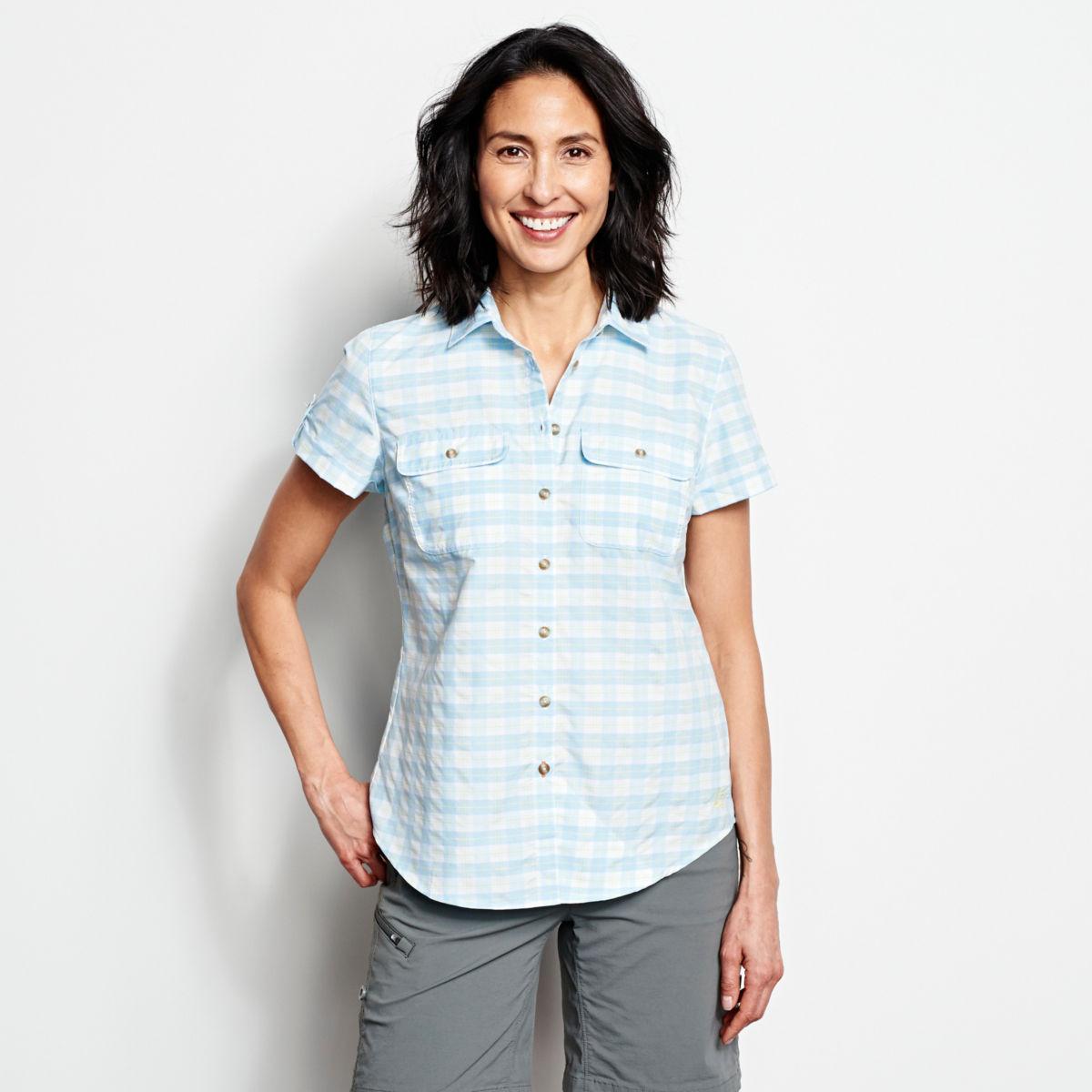Women's Rainy Bridge Short-Sleeved Tech Shirt - image number 0