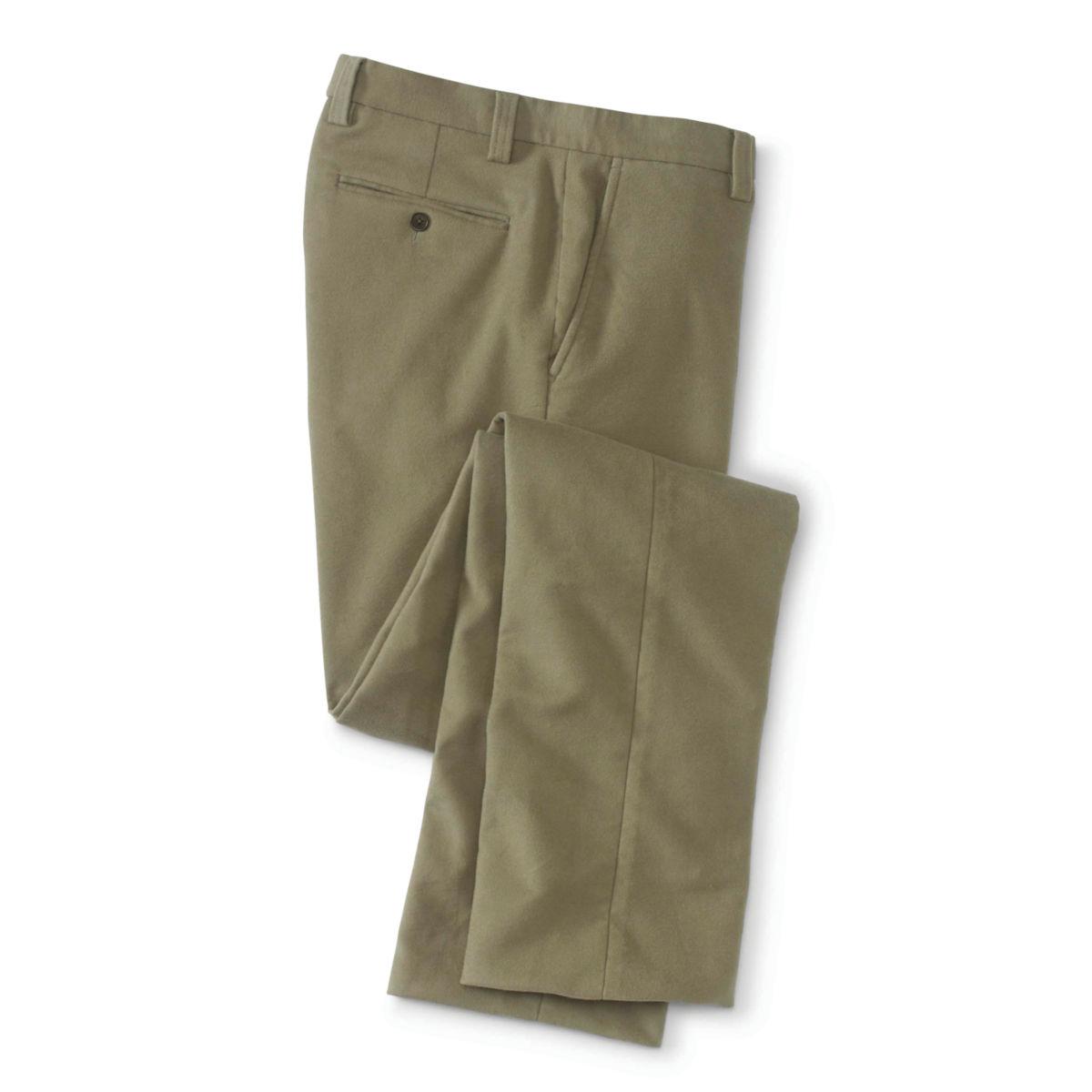 Stretch Moleskin Pants Plain - image number 0