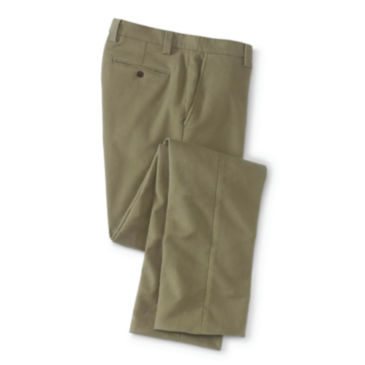 Stretch Moleskin Pants Plain -