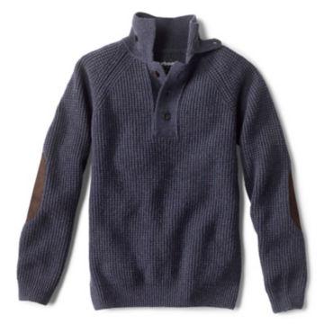 Barbour® Rossfell Half-Button Mockneck Sweater -  image number 0