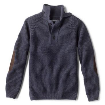 Barbour® Rossfell Half-Button Mockneck Sweater -