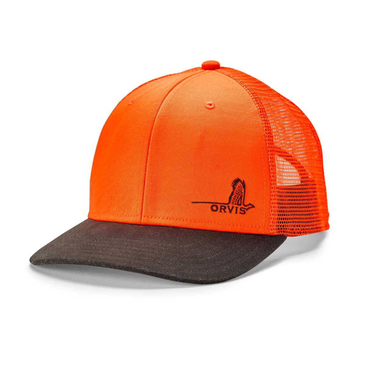 Mesh Back Waxed Brim Hat - PHEASANTimage number 0