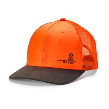 Mesh Back Waxed Brim Hat -