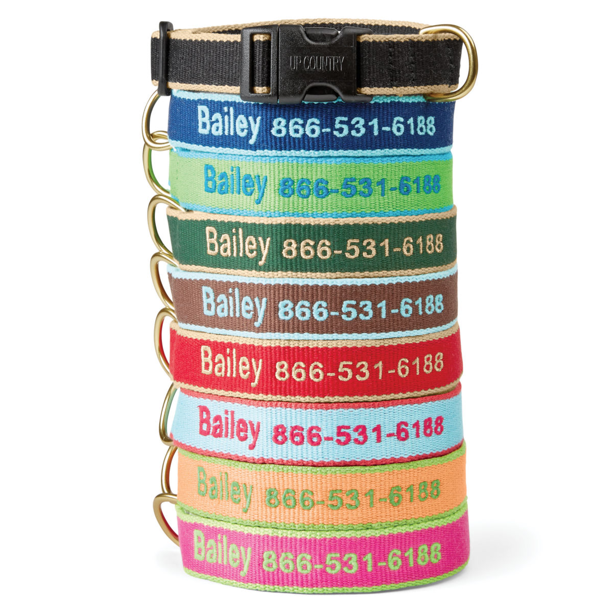 Personalized Bamboo Collar - image number 0