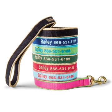 Personalized Bamboo Leash -  image number 0