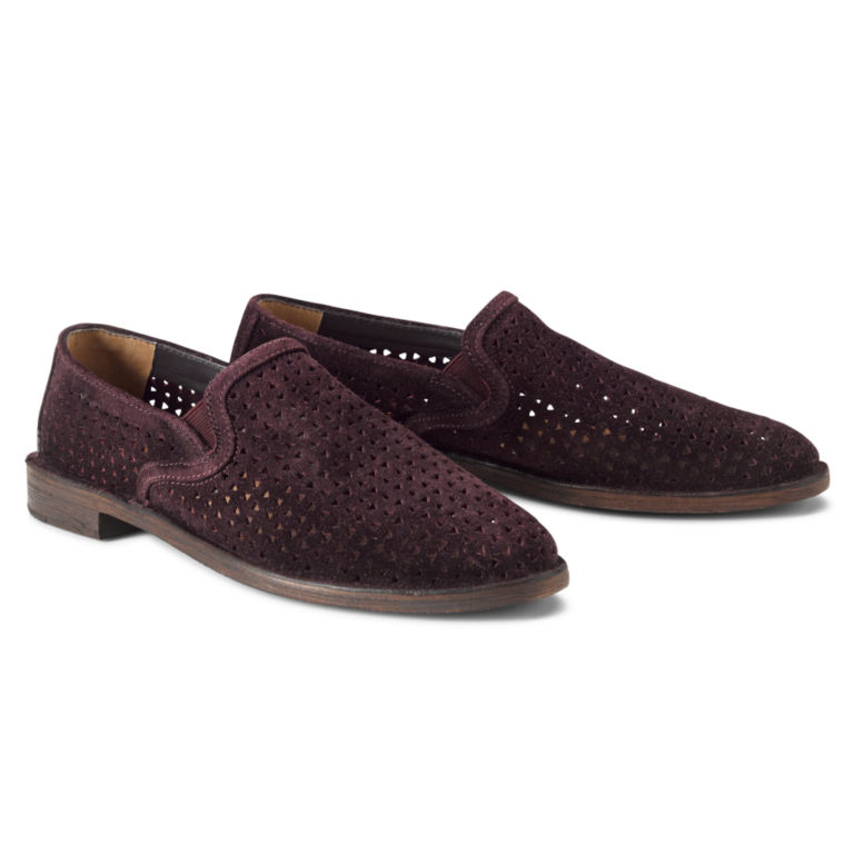 Trask®  Ali Perforated Slip-On Loafers -  image number 0