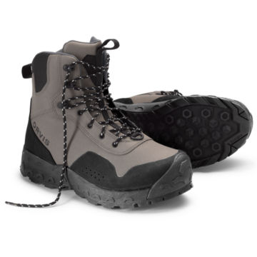 Men's Clearwater®  Wading Boots - Rubber Sole - GRAVEL image number 0