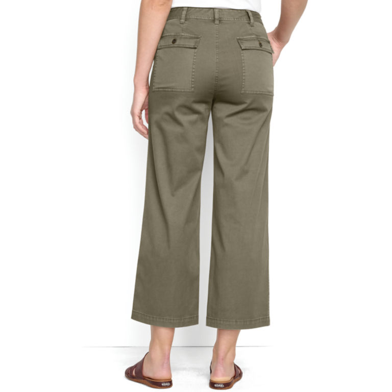 Cropped Wide-Leg Everyday Chinos -  image number 2