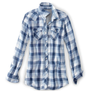 Washed Checked Shirt -  image number 3