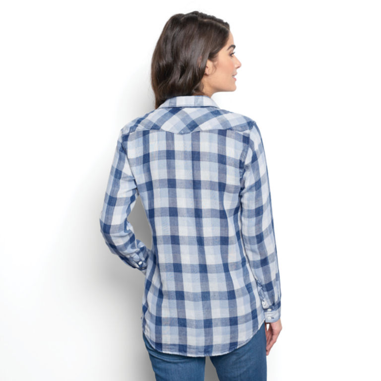 Washed Checked Shirt -  image number 2