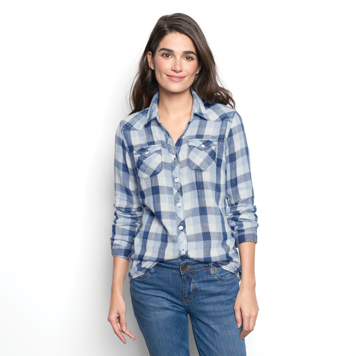 Washed Checked Shirt - image number 0