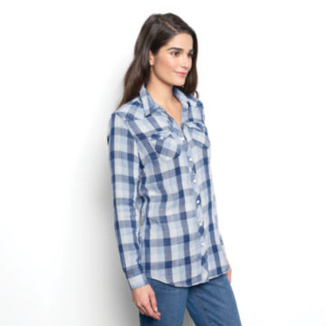 Washed Checked Shirt -  image number 1