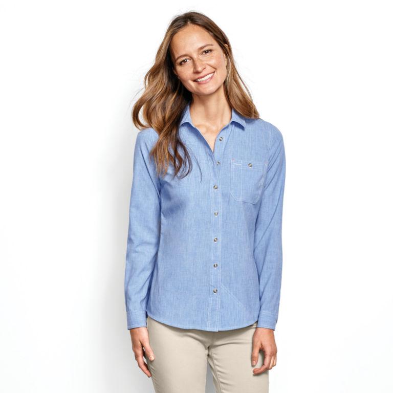 Women's Tech Chambray Work Shirt -  image number 0