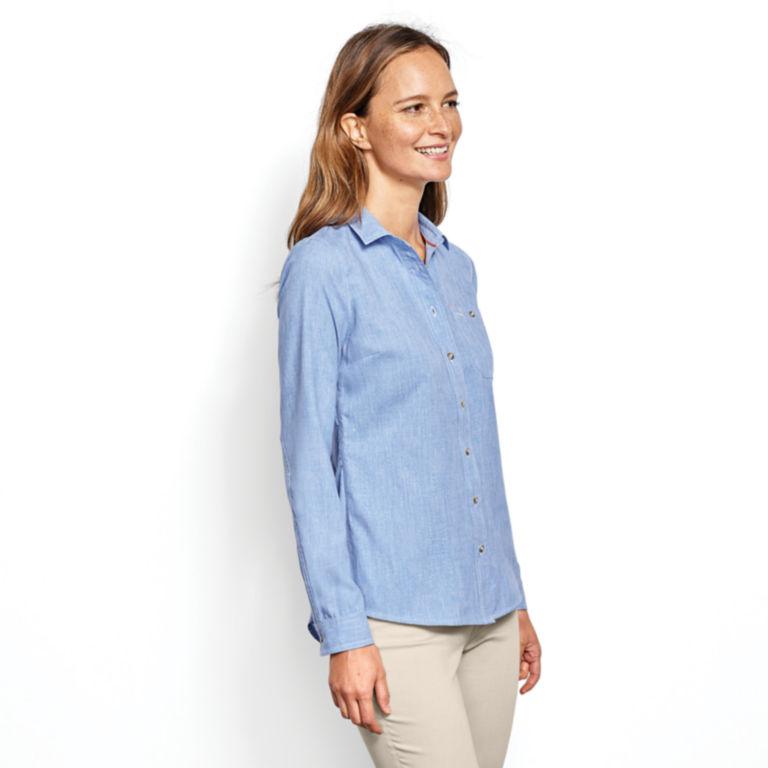 Women's Tech Chambray Work Shirt -  image number 1