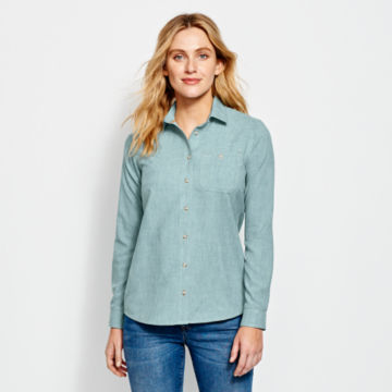 Women's Tech Chambray Work Shirt -  image number 0