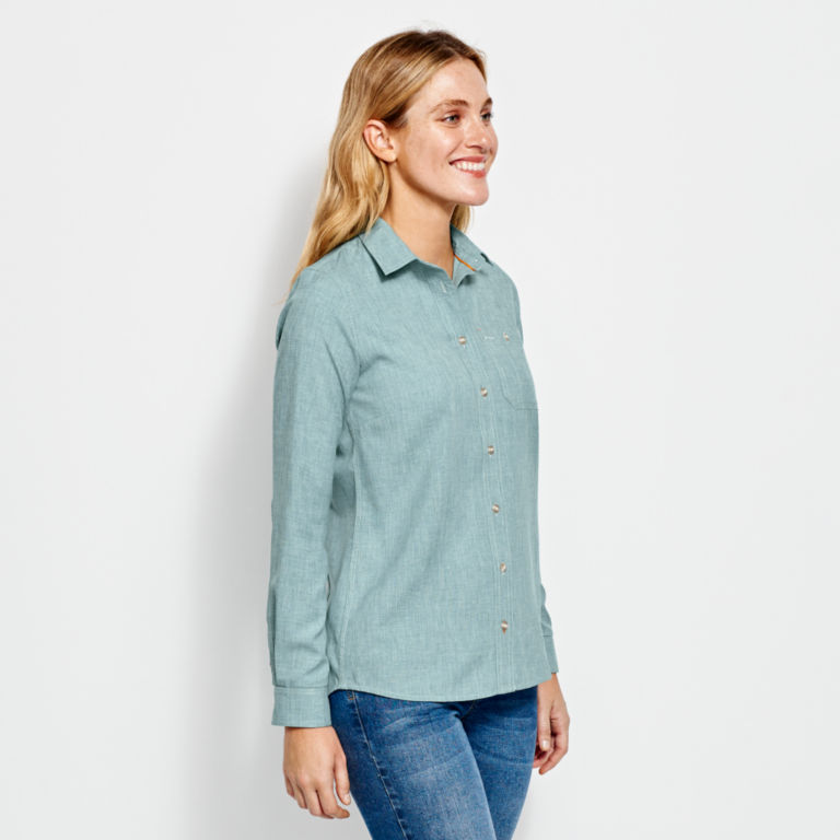 Women's Tech Chambray Work Shirt -  image number 1