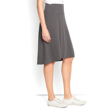 Everywhere Knit Skirt - GREY image number 0