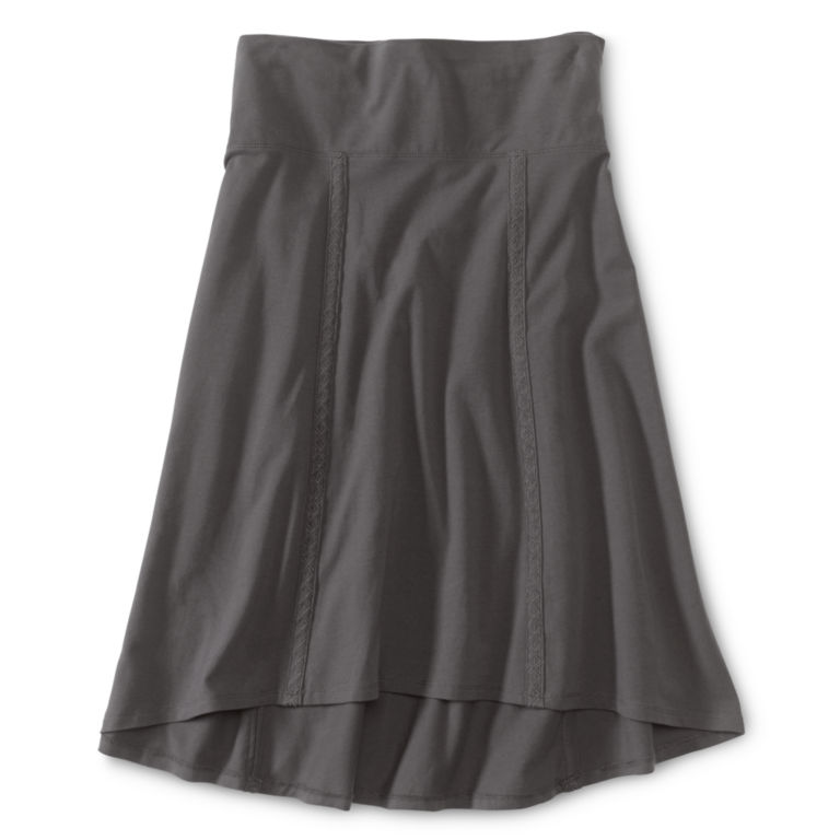 Everywhere Knit Skirt - GREY image number 2