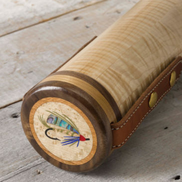 A.L. Swanson Wooden Fly Rod Tube -