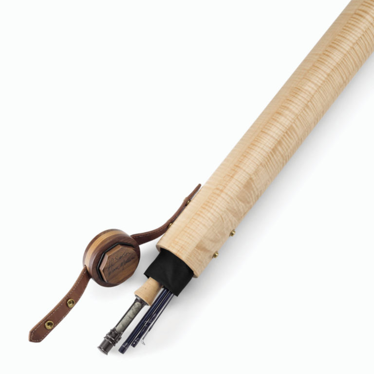 A.L. Swanson Wooden Fly Rod Tube -  image number 1