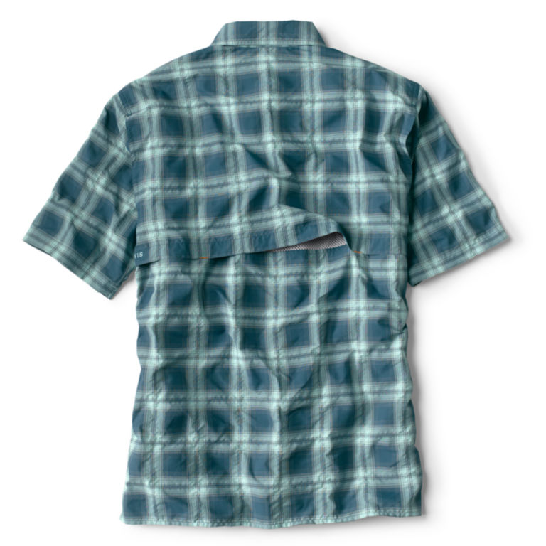 Open Air Plaid Short-Sleeved Casting Shirt -  image number 1