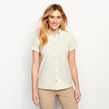 Women's Short-Sleeved Open Air Caster Shirt -