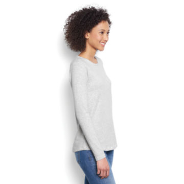 Long-Sleeved Striped Relaxed Perfect Tee -  image number 1