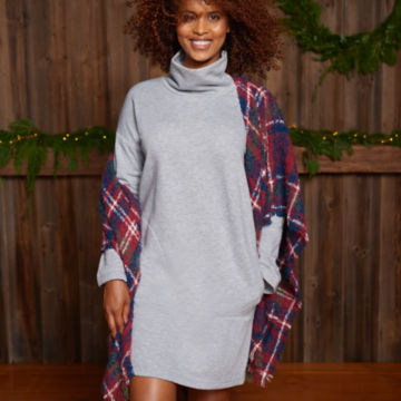 Signature Fleece Sweatshirt Dress -  image number 1