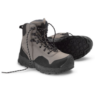 Women's Clearwater®  Wading Boots - Rubber Sole - GRAVEL image number 0