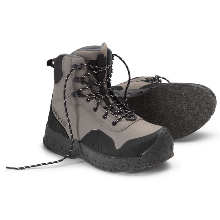Women's Clearwater®  Wading Boots - Felt Sole - GRAVEL image number 0