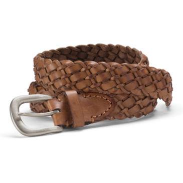 Braided Leather Belt -