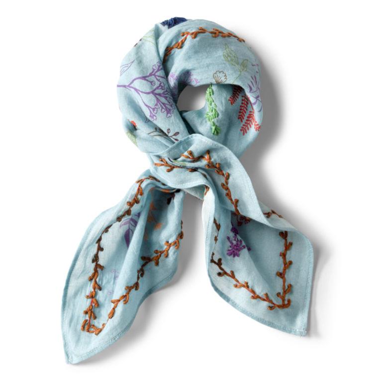 Embroidered Cotton Bandana -  image number 0