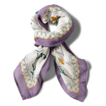Embroidered Cotton Bandana -