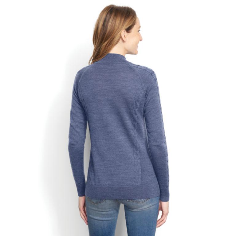 Signature Merino Quarter-Zip Sweater -  image number 2