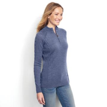Signature Merino Quarter-Zip Sweater -  image number 1