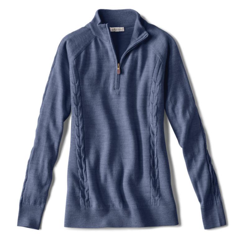 Signature Merino Quarter-Zip Sweater -  image number 3