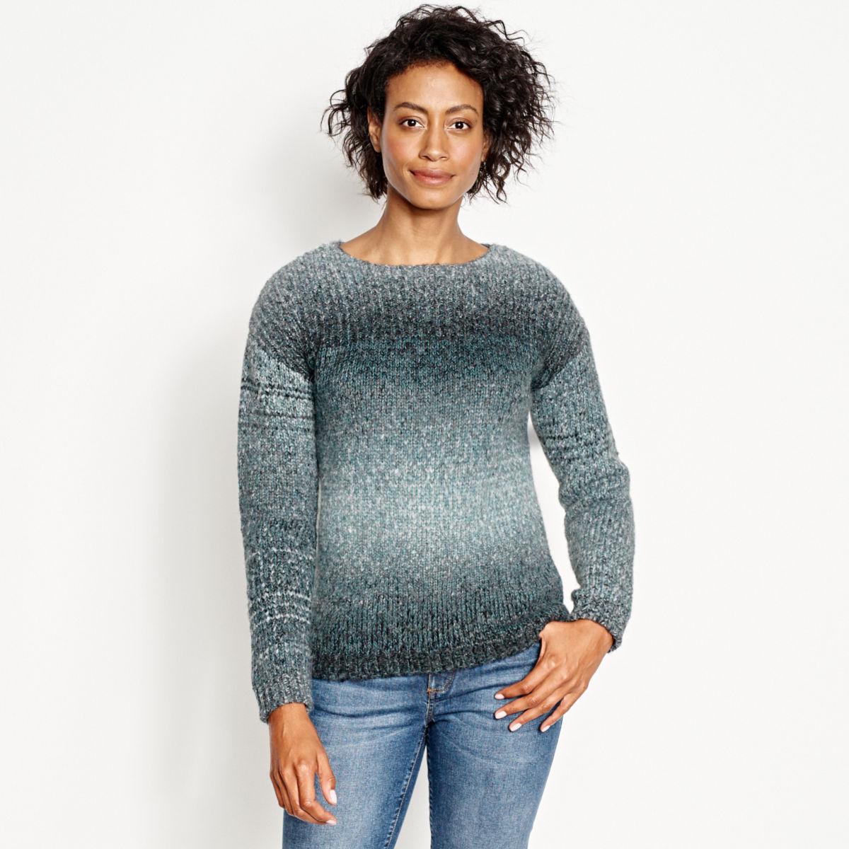 Ombré Artisan Crewneck Sweater - image number 0