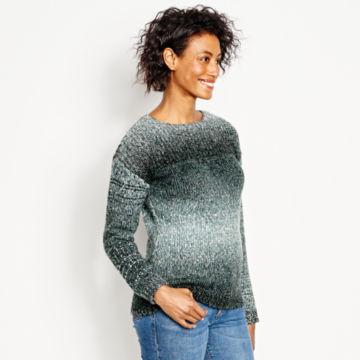 Ombré Artisan Crewneck Sweater -  image number 1