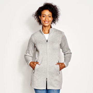 Marled Sweater Fleece Coat -  image number 0