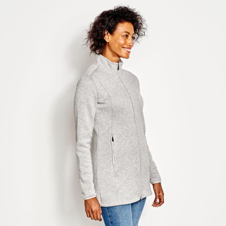 Marled Sweater Fleece Coat -  image number 1