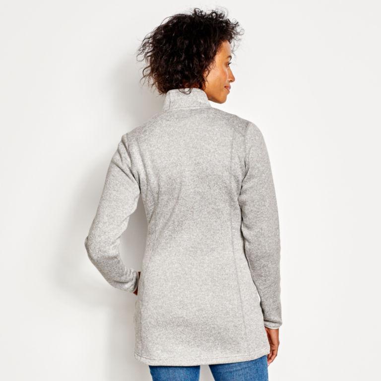 Marled Sweater Fleece Coat -  image number 2
