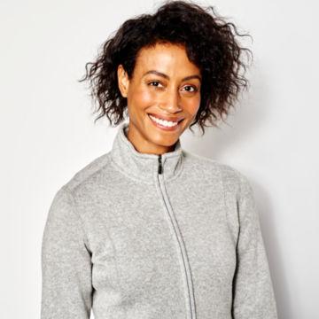 Marled Sweater Fleece Coat -  image number 3