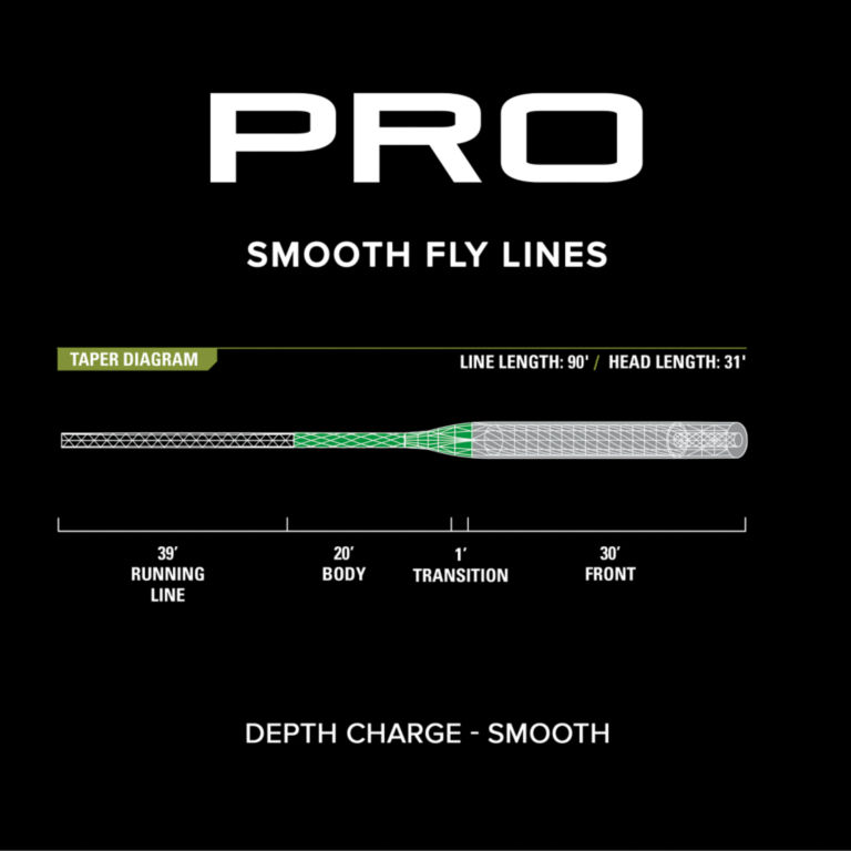PRO Depth Charge 3D Fly Line—Smooth -  image number 2