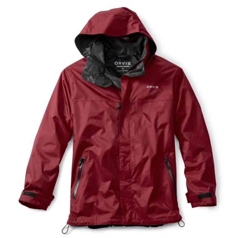 Orvis Waterproof Rain Jacket - RED image number 0