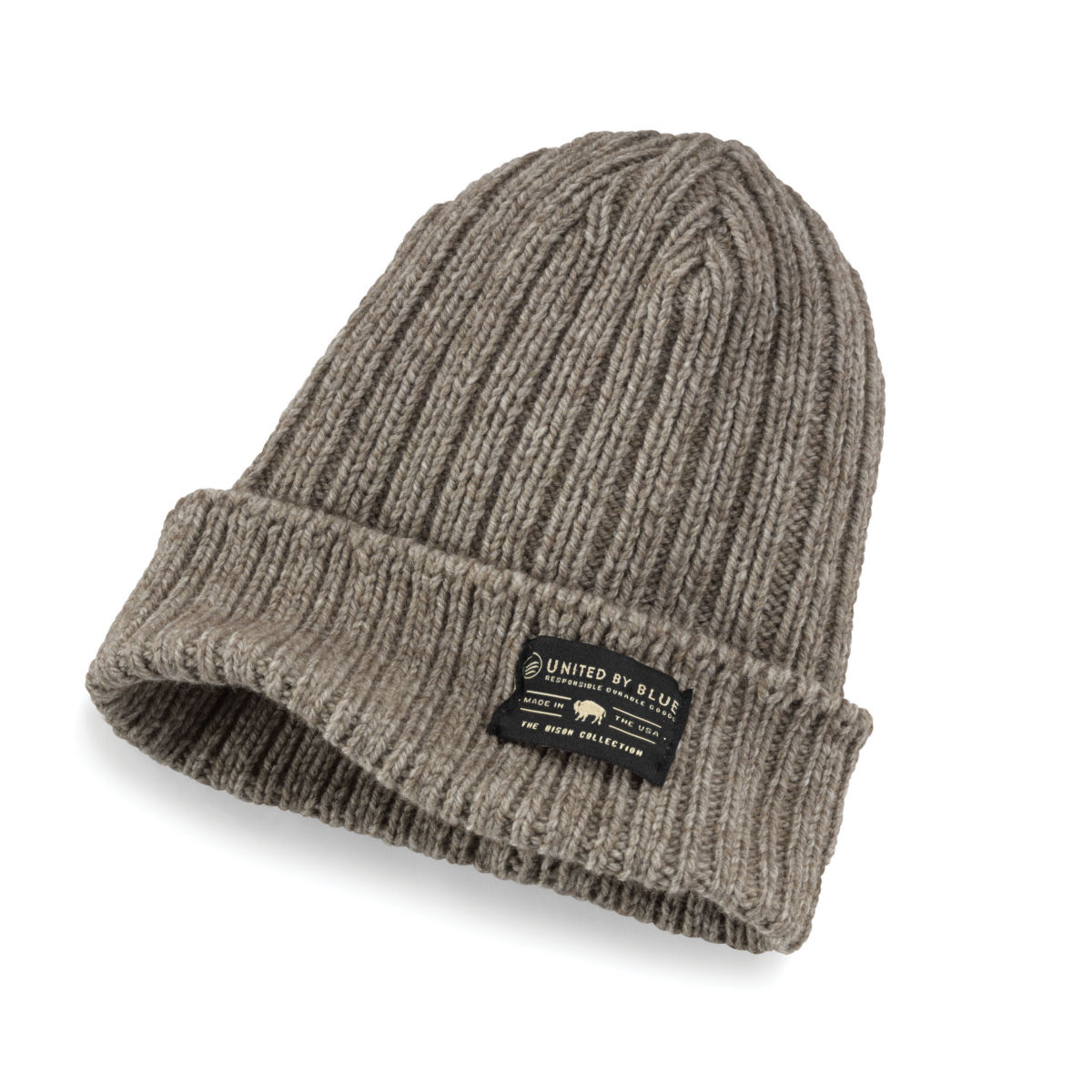 Ultimate Bison Knit Beanie - BROWNimage number 0