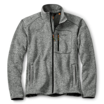 Full-Zip Sweater Fleece Jacket -